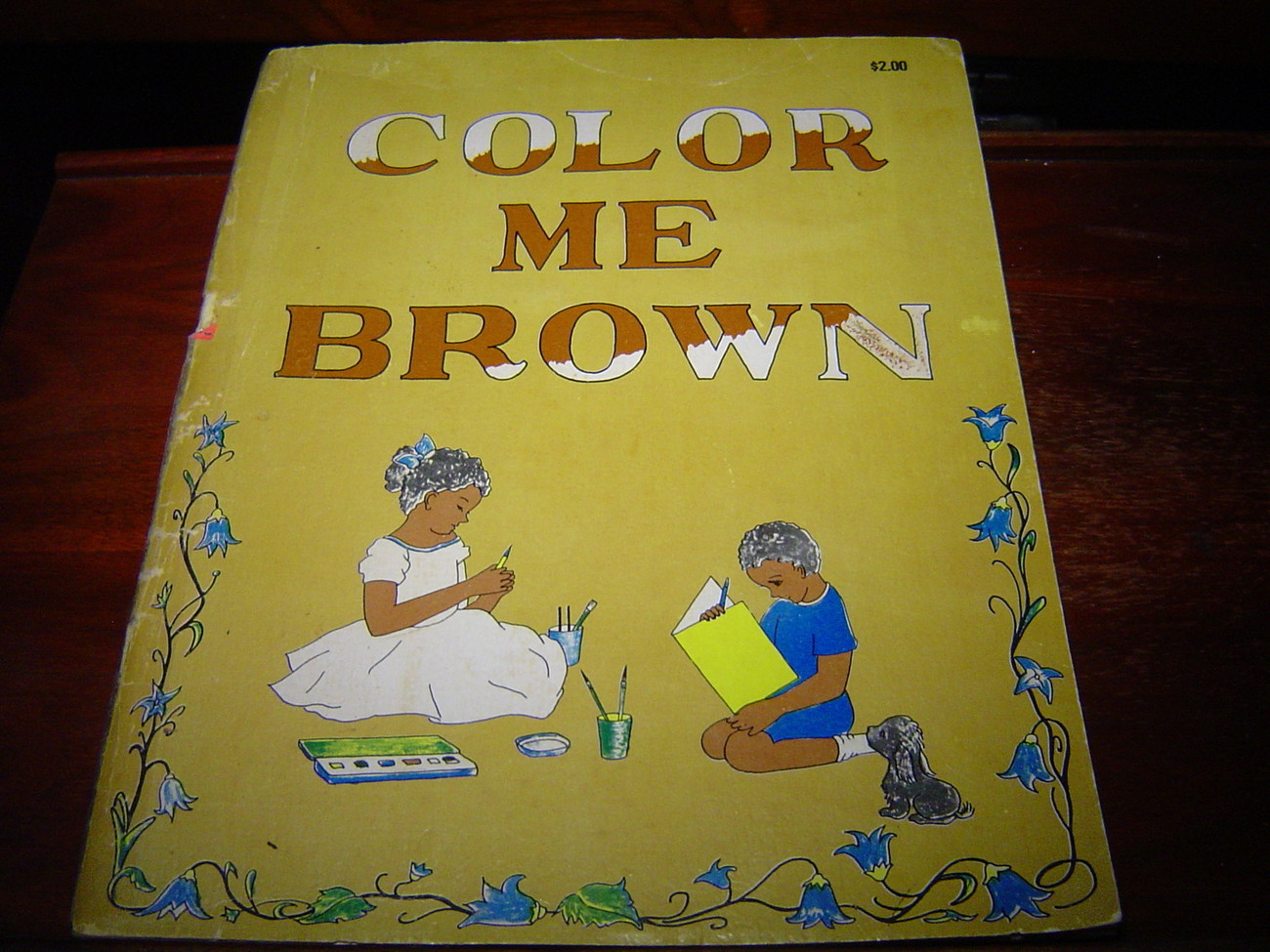 Primary image for Color Me Brown AFRICAN AMERICAN COLORING BOOK by Lucille H. Giles (1976)