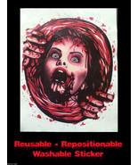 Bloody Horror--PSYCHO VICTIM TOILET COVER STICKER--Halloween Bathroom De... - $6.90