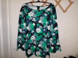 Ann Taylor Floral Print Tee Shirt Top Nwt Misses L - $20.00