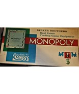 Monopoly By Parker Brothers (1961) Board Game  - $10.95