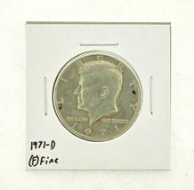 1971-D Kennedy Half Dollar (F) Fine N2-3467-2 - $0.99