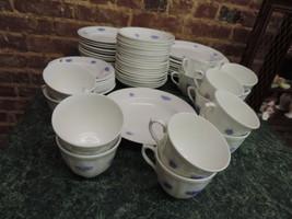ADDERLEY CHELSEA dishes lot dinner plates - $92.57