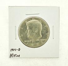 1971-D Kennedy Half Dollar (F) Fine N2-3467-4 - $0.99