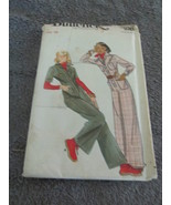 Butterick 4396-Vintage size 16 Misses Jumpsuit - $6.99