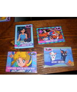 Lot of 4 Sailor Moon trading cards Lot #5 - $10.00