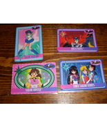 Lot of 4 Sailor Moon trading cards Lot #7 - $10.00