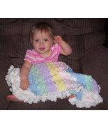 Pastel Hand Crocheted Baby Blanket - $50.00
