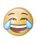 Rolling Festive Emoji Mask (Laughing to Tears) - $11.71
