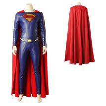 DC Justice League Movie Superman Kal-El Clark Kent Cosplay Costume - $247.18