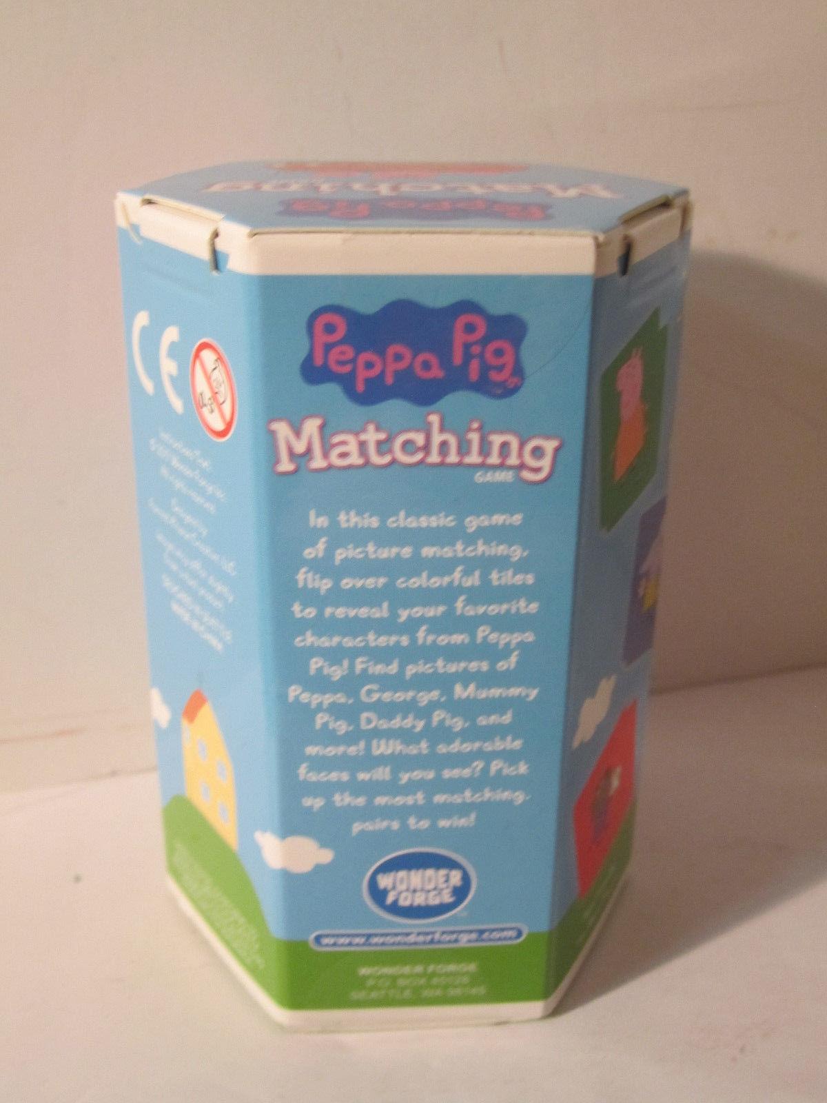 Peppa Pig Matching Game Sorting Game Toddler PreSchool Fun by Wonderforge NEW image 4