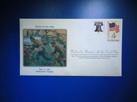 RARE UNRELEASED Battle Of Fair Oaks Philatelic History Of Civil War Cover - $49.50