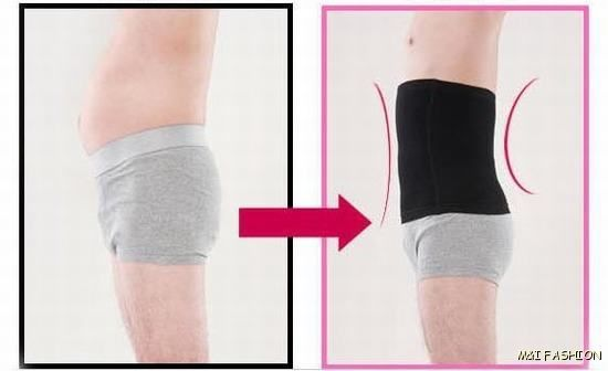 Mens Body Shaper, Large, Waist Cincher Reducer Slimming Belt