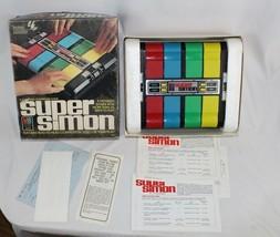 Vintage 1970s Super Simon #4050 w/ Original Box, Styrofoam, Papers NEEDS REPAIRS - $21.03