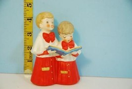 1961 Goebel Christmas Time Singing Church Choir Boys Figurine West Germany - $24.75