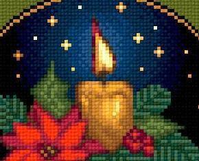 Seasons Greetings I christmas holiday cross stitch chart Solaria Designs