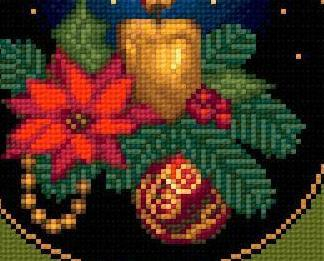 Seasons Greetings I christmas holiday cross stitch chart Solaria Designs