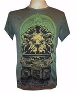 n2 Yoga Men T Shirt Lion King Jungle Animal Nature Peace Hobo Boho M Pur... - $12.86