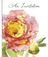 American Greetings 10 Count Invitations with Envelopes Pink Orange Water... - $4.21