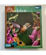Audubon Hummingbird II Jigsaw Puzzle 500 piece Buffalo Games no poster u... - $9.88