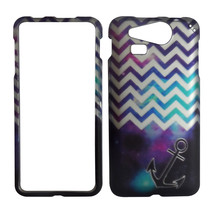 Purple Chev Anchor Case for Kyocera Hydro Elite C6750 Phone Cover . - $9.49