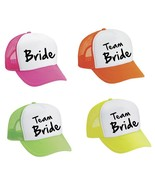 Snapback Hat Set Of 4 Bride And Team Bride Bachelorette party Wedding Br... - $40.00