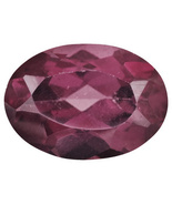 .80ct 7x5mm Oval Rhodolite Garnet  - $8.99