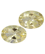 9.00CTW 14X10MM Oval Yellow Labradorite Set of 2 - $40.00