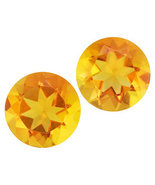.50ctw 5mm Round Fire Opal Set Of 2 From Mexico - $15.00
