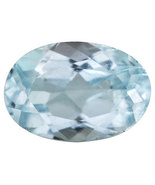 .40ct 6x4mm Oval Aquamarine  - $20.00