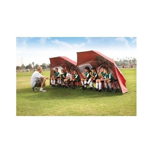 Umbrella Outdoor Beach Sun Wind Protection Shelter Canopy Shade Portable Folding