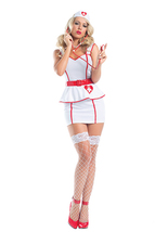 Sexy Be Wicked Personal Care Nurse Halloween Costume W/WO EXTRAS S/M M/L... - $40.00+