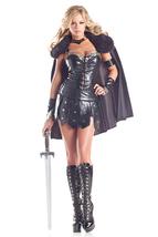 Sexy Be Wicked Deluxe Warrior Princess Gladiator Roman Halloween Costume... - $84.00