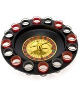 16 Glass Shot Glass Roulette - Drinking Game Set - £17.21 GBP