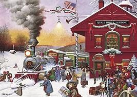 Buffalo Games - Charles Wysocki - Whistle Stop Christmas - 500 Piece Jig... - $12.96