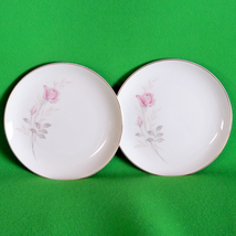 Vintage Pair Of Camelot China (Japan) Side Plates In The American Rose P... - $2.95
