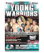 Young Warriors Boxing Oaks PA Mid Atlantic Amateur Event 2008 Advertisin... - $4.99