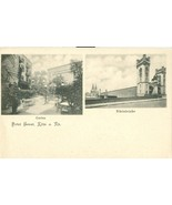 Germany, Hotel Ernst, Koln am Rhein, Garten, Rheinbrucke, early 1900s Po... - $24.99