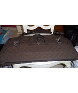 Vera Bradley Brown Microfiber Garment bag  - $85.00