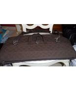 Vera Bradley Brown Microfiber Garment bag  - $85.00