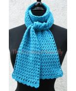 CROCHET PATTERN - V-Stitch Scarf, crochet, women's accessory, fashion, h... - $3.99