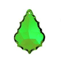 "Swarovski Crystal 2"" Light Green Faceted Pendeloque Prism Pendant Charm ... - $13.50"