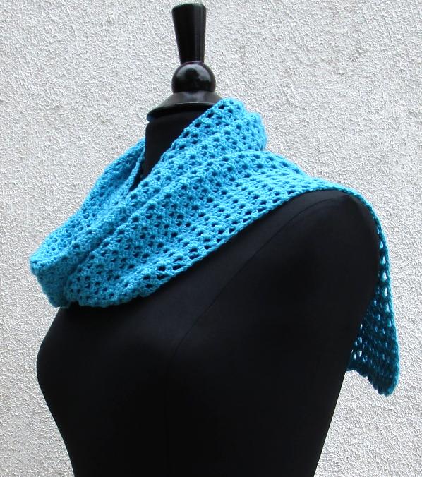 CROCHET PATTERN - V-Stitch Scarf, crochet, women's accessory, fashion, handmade