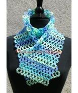 CROCHET PATTERN - Sea Breeze Scarf, women's accessory, fashion, handmade - $3.99