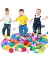 E Support 1000PCS Colorful Plastic Ball Pit Balls Baby Kids Tent Swim To... - $89.35