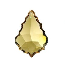 "Swarovski Crystal 2.5"" Golden Teak Faceted Pendeloque Prism Chandelier P... - $22.85"