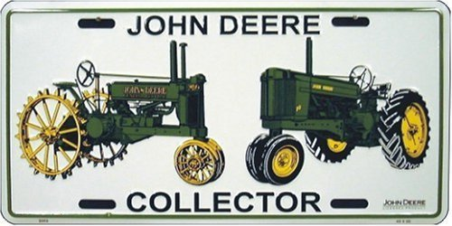 John Deere Collector Auto Tag [Misc.]