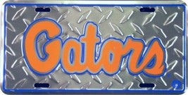 Florida Gators Diamond Cut NCAA Tin License Pla... - $7.91
