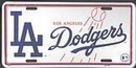 Los Angeles Dodgers License Plate [Misc.] - $7.91