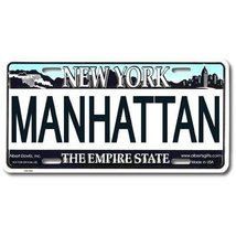 Manhattan New York License Plate - $9.89