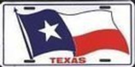 Texas State Flag License Plate [Automotive] - $6.92